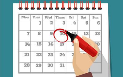 Calendar / Summer Exam Schedule